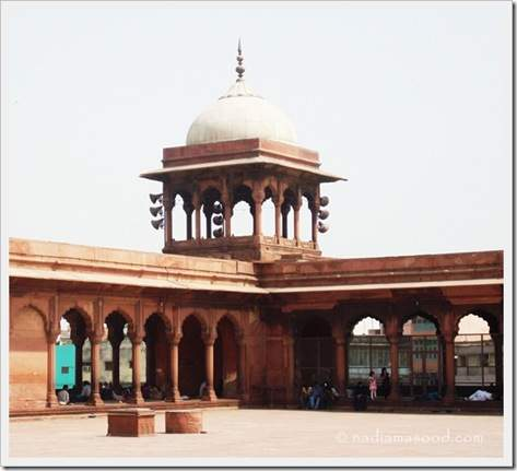Mosque by Shah Jahan in India