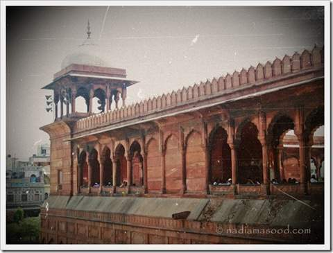Old mosque in Delhi