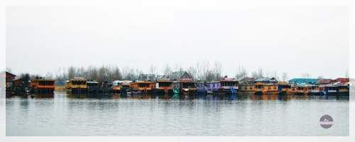 dal lake srinagar in winter