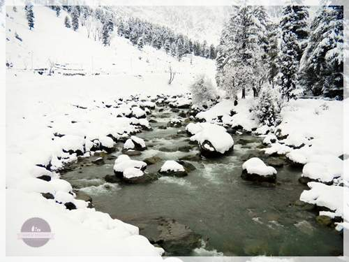 river in sonmarg