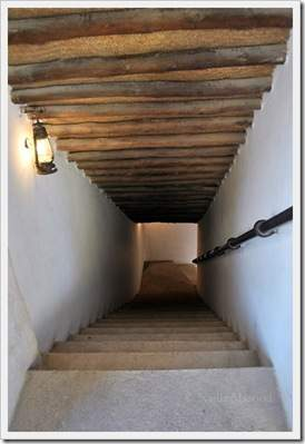 traditional arab staircase
