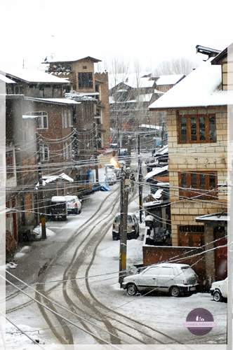 Winter in Srinagar