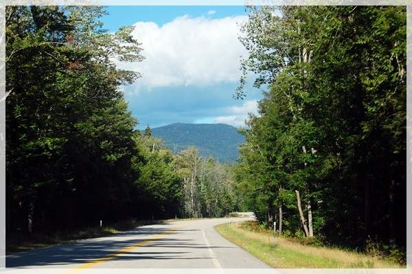 driving through new hampshire
