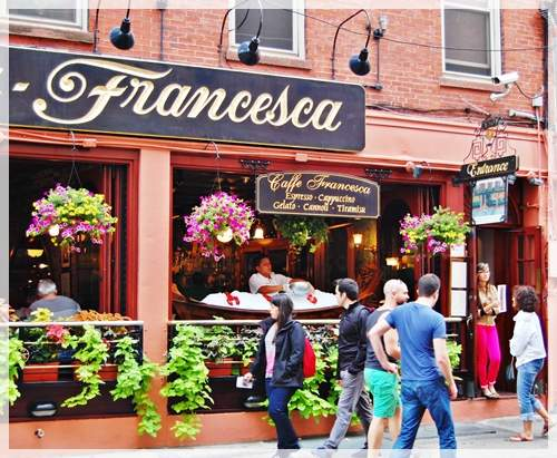 cafe francesca boston