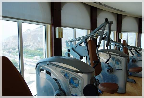 gym facilities in oceanic resort