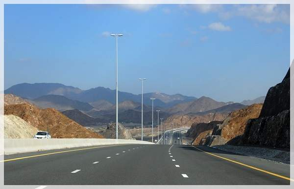 road to fujairah