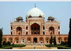 humayun tomb location
