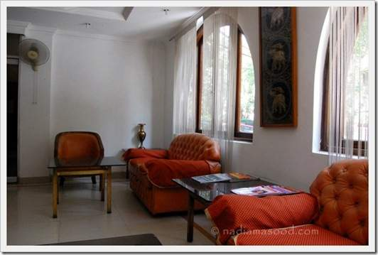Kapur Guest House, waiting area