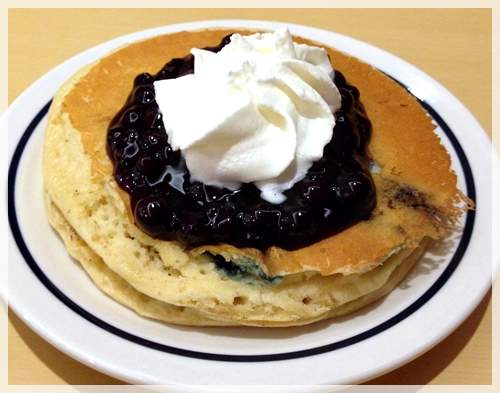 blueberry pancakes ihop