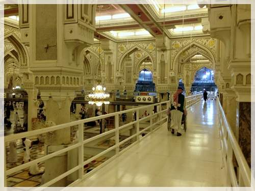 wheelchair access in makkah