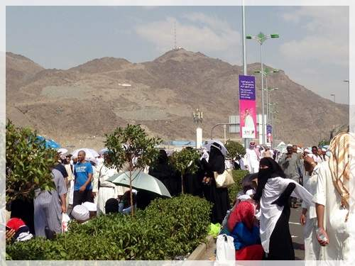 hajj crowd