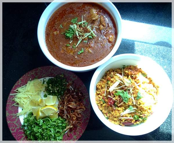 nihari and dal fry