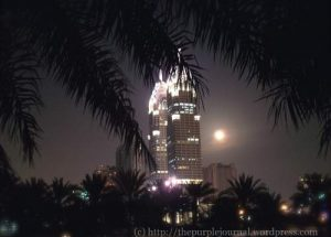 full moon in Dubai